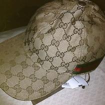 Gucci Beige Baseball Hat  Photo