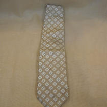 Gucci Beige Silk Tie Photo