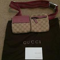 Gucci Belt Bag Pink Authentic in Mint Condition Photo