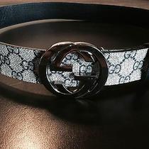 Gucci Belt - Gg Plus Belt With Interlocking G Buckle  Photo