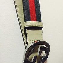 Gucci Belt Interlocking Buckle Photo