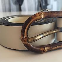 Gucci Belt Leather With Bamboo Size 90 34 Photo