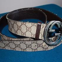 Gucci Belt Men's Fashion Nfl Player Owned Photo