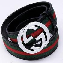 Gucci Belt Red and Green Photo