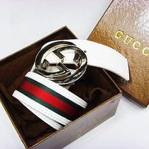 Gucci Belt  Silver Buckle Photo