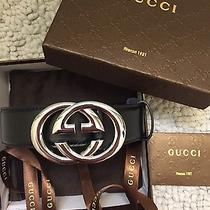Gucci Belt Size 32-36 Photo