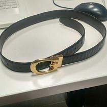 Gucci Belt With Gold Buckle 32-34 Photo