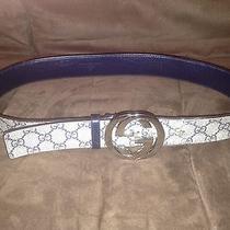 Gucci Belt With Interlocking G Buckle Photo