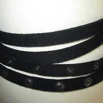 Gucci    Belt    With   Studs   and  Leather  Buckel     Size    L Photo
