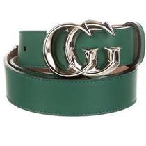 Gucci Belt Xl With Tags Gg Silver Buckle Photo