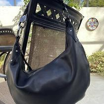 Gucci Black Leather Large Hobo Shoulder Bag Photo