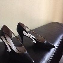 Gucci Black Leather Shoes Photo