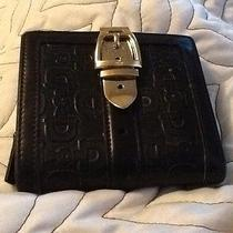 Gucci Black Leather Wallet Photo