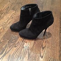 Gucci Black Suede Booties Size 38.5 // Gently Worn // Classic Style Photo