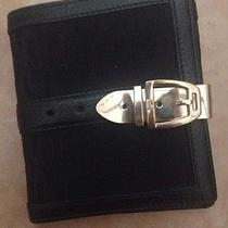Gucci Black Wallet With Gold Clip for Woman  Photo