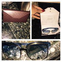 Gucci Blue Tint Glasses Photo