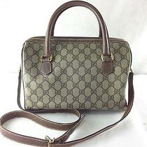 Gucci Boston Bag Vitage Bag Shoulder Bag Photo
