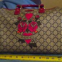 Gucci Bowling-Bag Style Purse 8x13x6