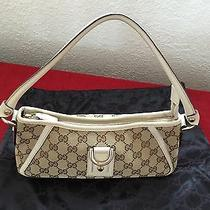 Gucci Brown and Beige Handbag Photo