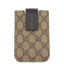 Gucci Brown Gg Canvas Iphone Sleeve Case Photo