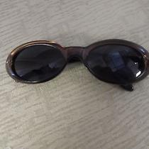 Gucci Brown Oval Designer Sunglasses Photo