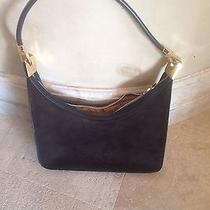 Gucci Brown Suede Handbag  Photo