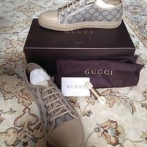 Gucci California Low-Top Sneaker - 12g - 13 Us- Brand New in Box - Beige & Cream Photo