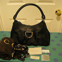 Gucci Canvas Gg Guccissima Horsebit D Ring Bag Photo