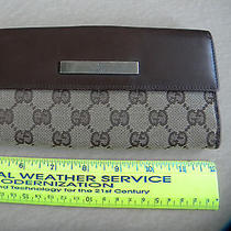 Gucci Checkbook Coin Wallet  Photo