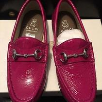 Gucci Children's Horsebit Loafer Moccasins Size 24 New Photo