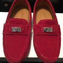 Gucci Children's Loafer Moccasins Size 30 New Red Photo