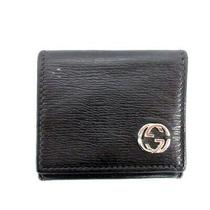 Gucci Coin Purse Gg Marmont Leather Wallet Black Mens Photo