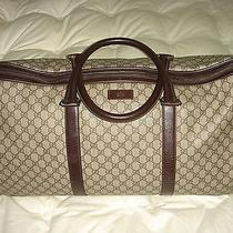 Gucci Duffel Bag Check It Out Photo