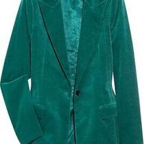 Gucci Emerald Green Velvet  Blazer   Size 44(it)/8us Photo