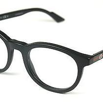 Gucci Eyeglasses Gg 3654  col.29a Matt Black New Photo