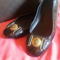 Gucci Flats Black 7.5 B With Gucci Crest Photo