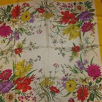 Gucci Floral Print Scarf Photo