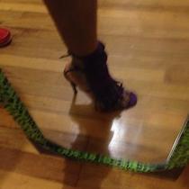 Gucci Fringe Sandals Purple Photo