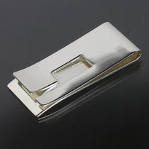 Gucci G Logo Motif Money Clip Sterling Silver 925 W/box 4033 Photo