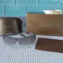 Gucci  Gc 2772/s Semi Rimless Gray Gradient Lens Sunglasses Photo
