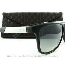 Gucci Gg 1047/s Nyvic Black White Unisex Sunglasses Photo