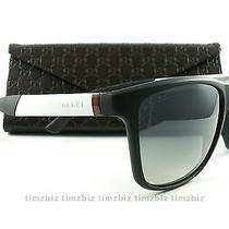 Gucci Gg 1047/s Nyvic Black White Unisex Sunglasses Photo