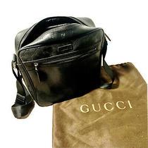 Gucci Gg Imprime Messenger Bag Shoulder Bag Men's Black Photo