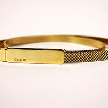 Gucci Gold Plated Metal Mesh Snake Chain Skinny Belt  Tom Ford  Super Rare Photo