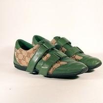 Gucci Green & Logo Sneakers Photo