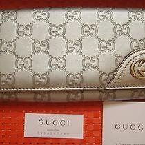 Gucci Guccissima Continental Wallet  Photo