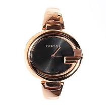 Gucci Guccissima Rose Gold 35mm Stainless Steel Quartz Watch  Photo