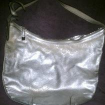 Gucci Guccissima Silver Handbag Photo
