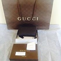 Gucci Guccissima Wallet - Black Photo