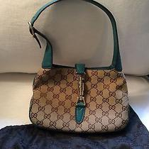 Gucci Handbag Authentic Brown Beautiful Photo